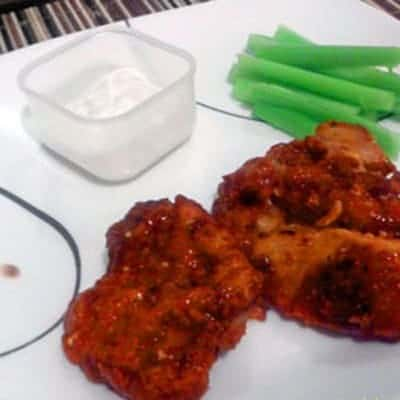 Make these Home Made Buffalo Chicken, To avoid ready made Buffalo Chicken. Homemade recipes are always to be preferred for its reduced fat content.