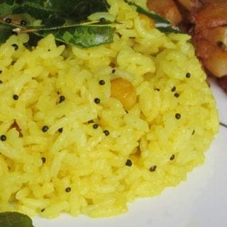 lemon-rice-recipe-indian-rice-variety