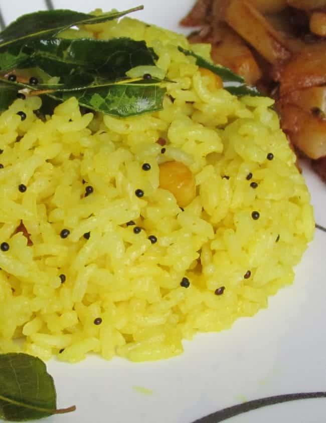 Lemon Rice Recipe is the most simple yet Delicious recipe for rice.