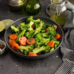 Spicy broccoli salad is a delicious recipe which is high on nutrition.A great snack with a crunchy texture. A perfect blend of tastes and textures.