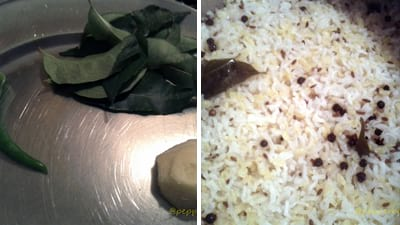 Pongal, this recipe will make Pongal which is being served in temples as 'Prasadham'.