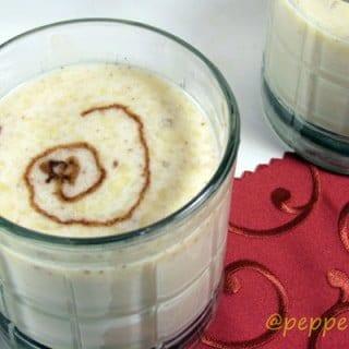 Banana Milk Shake Recipe