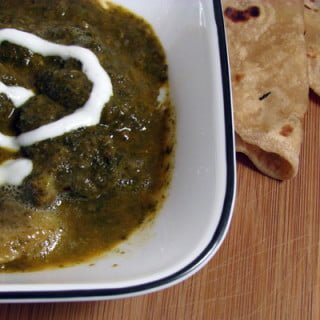 Aloo Palak Recipe-Potato Spinach Healthy Curry