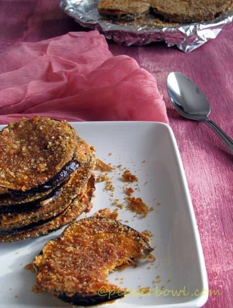Easy Crispy Eggplant-Baked Eggplant Recipe