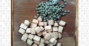 paneer and pea for steps and procedures
