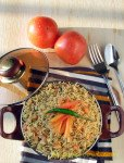 South Indian Tomato Rice Recipe-Thakali Sadham