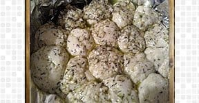 Pull Apart Bread steps and procedures