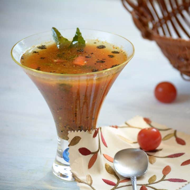 Rasam, a South Indian Soup