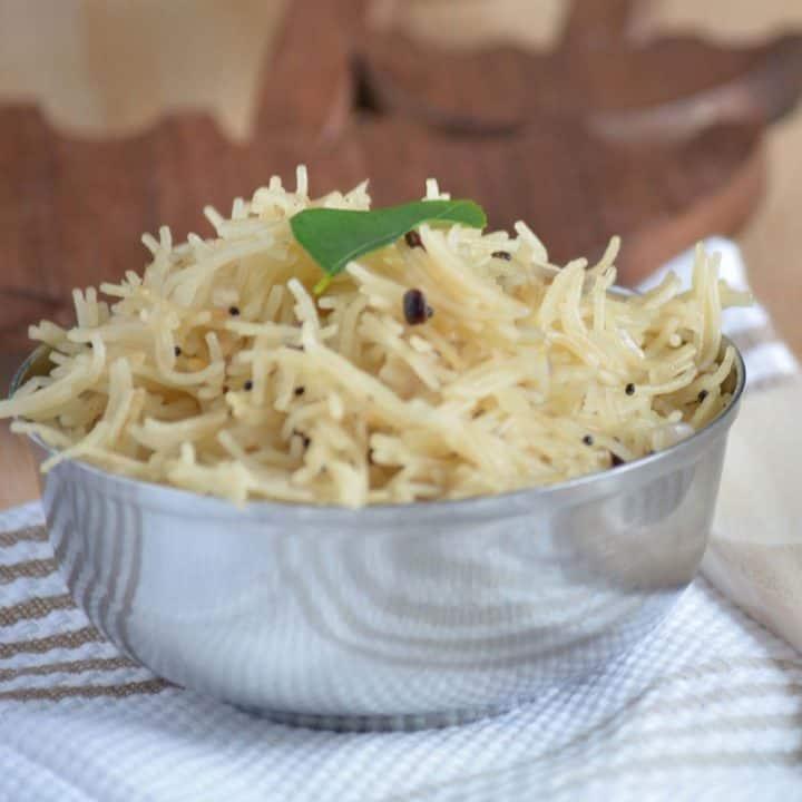 Semiya Upma Recipe is a breakfast of South Indians