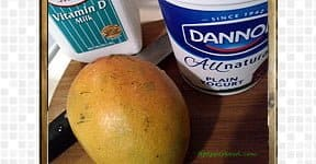 Mango Lassi steps and procedures