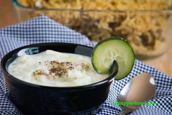 Cucumber Raitha Recipe, Cucumber Yogurt Sauce