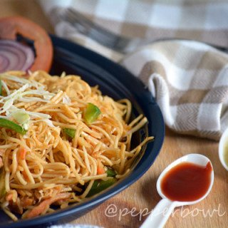 Easy Spicy Szechuan Noodles Recipe – Indo Chinese