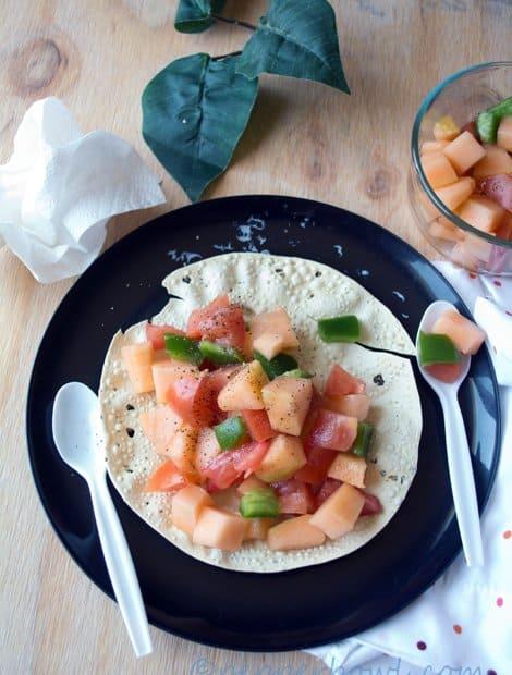 Quick Cantaloupe Salad Recipe