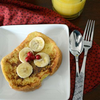Morning Quicky French Toast Breakfast Recipe