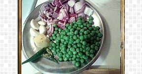Peas Pulao steps and procedures