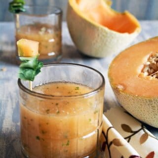 Cantaloupe Juice Recipe-a Perfect Summer Drink