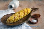 Lemon drizzled Sweet Corn Cob