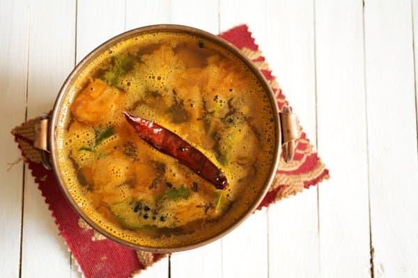 Pineapple Rasam-charu-Indian Soup