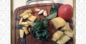 Pineapple Rasam, steps and procedures