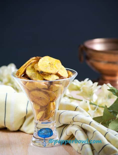The fried plantain chips made with coconut oil is excellent for snack perfect to munch on any time including parties. A very addictive snack also this is a vegan, paleo, whole30, gluten free, dairy free recipe.