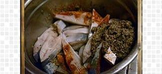 Fry-Pomfret Fish, steps and procedures