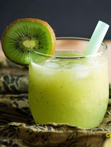very healthy kiwi juice long picture