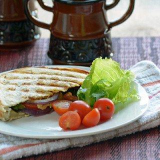 Easy Grilled Veggie Sandwich Recipe