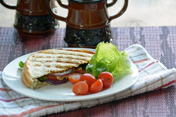 Easy Grilled Veggie Sandwich Recipe