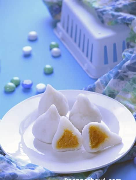Jaggery Mothagam-Modak Recipe