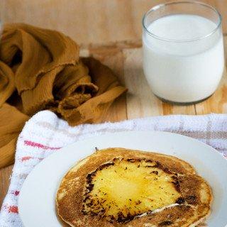 Pineapple upside down Pancake