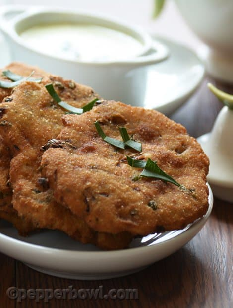 Quick Maddur Vada Recipe