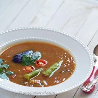 Udipi Sambar - Karnataka's flavorful recipe
