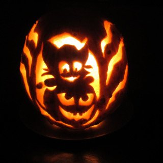 My Halloween pumpking Carving Experience