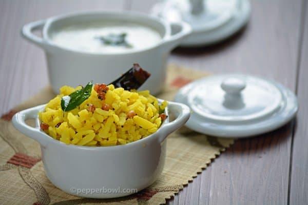 Lemon Aval-Poha Recipe