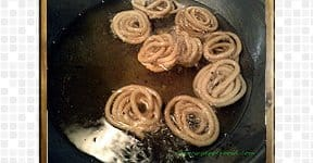 Mini Murukku, steps and procedures