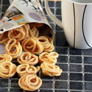 Mini Murukku recipe of Readymade Snack