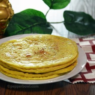 Paruppu Boli - A Sweet Flat Bread with Lentils