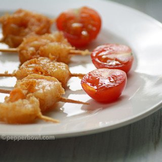 Shrimp Appetizer with toothpick – Easy Party Food