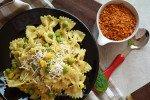 Creamy Corn Bow tie Pasta Recipe