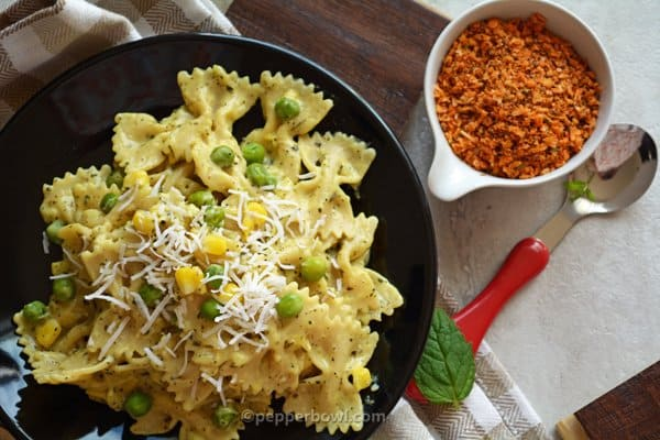 Creamy Corn Pasta Recipe