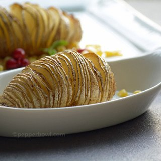 Easy Baked HasselBack Potatoes