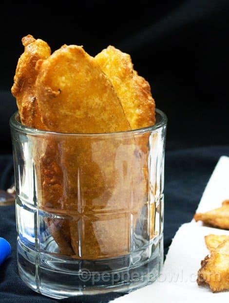Banana Bajji Recipe-Vazhakkai Bajji