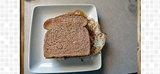 Coriander Bread Sandwich, steps and procedures