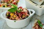 Cranberry Corn Salsa with Fresh Basil