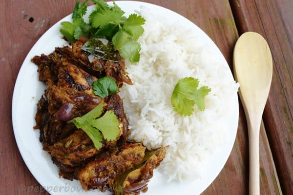 Chicken Breast with Fresh Coriander Leaves