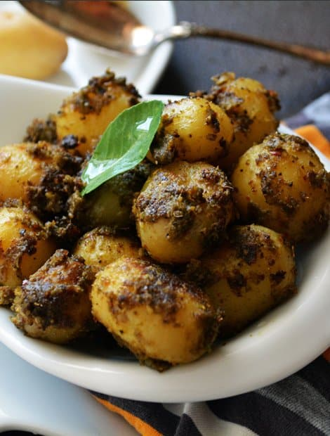 Hot n Spicy Baby Potato Fry Recipe