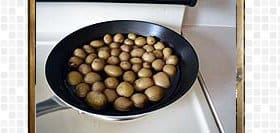 Baby Potato Fry Recipe-steps and procedures