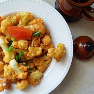 Cauliflower Golden Fry-snacking recipe
