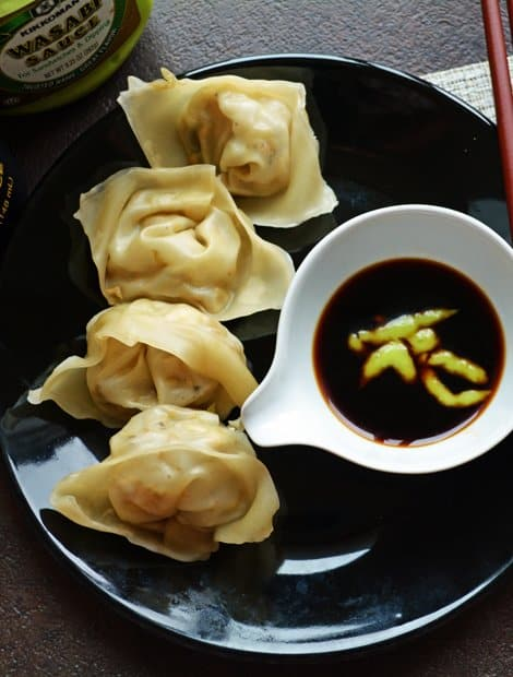 Chinese Vegetarian Wonton with Tofu(steamed Dumblings)