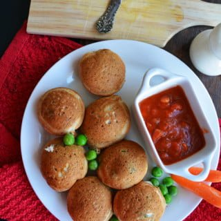 Vegetable Pancake Poppers Recipe
